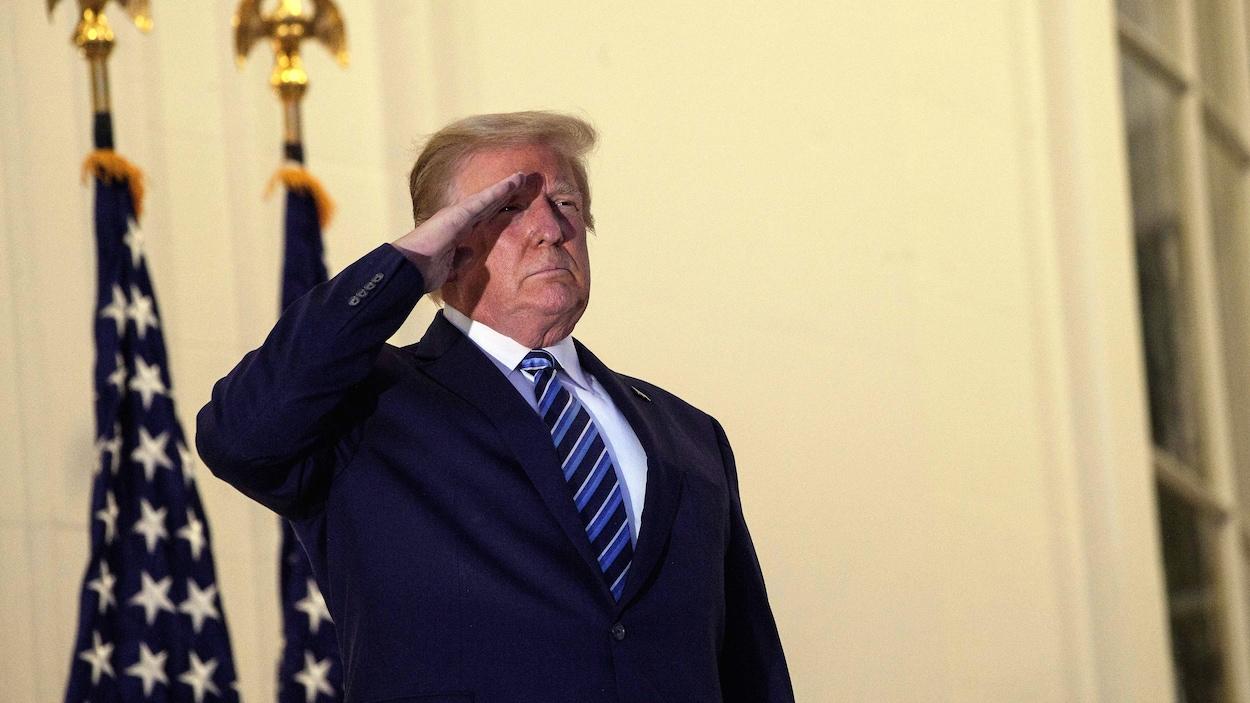 Donald Trump à la Maison-Blanche.