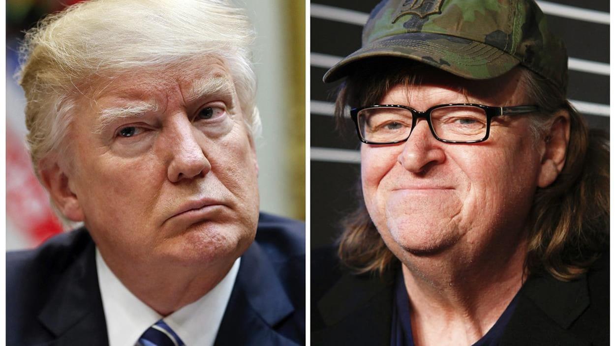 Donald Trump et Michael Moore