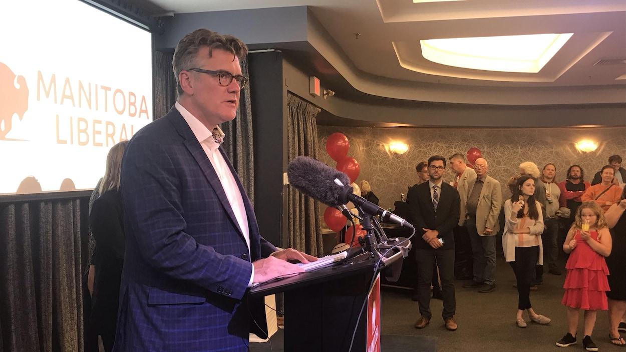 Dougald Lamont chef du Parti libéral du Manitoba