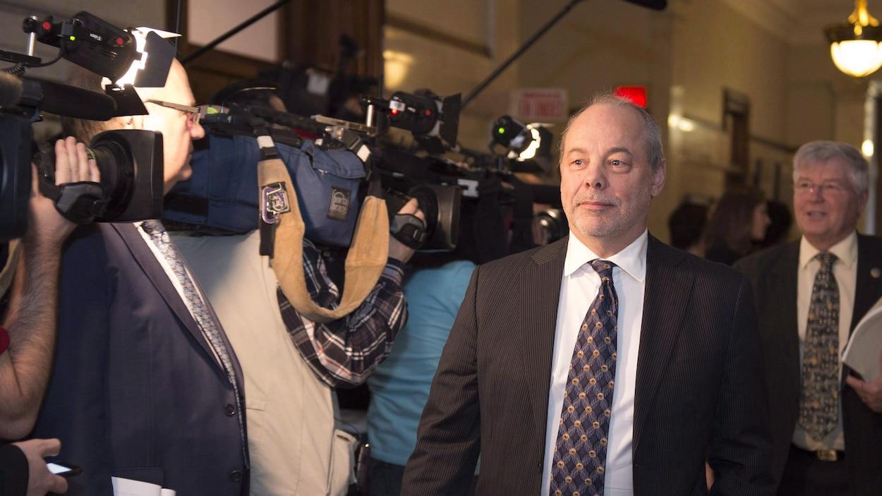 L'ancien chef de cabinet du premier ministre Couillard, Jean-Louis Dufresne