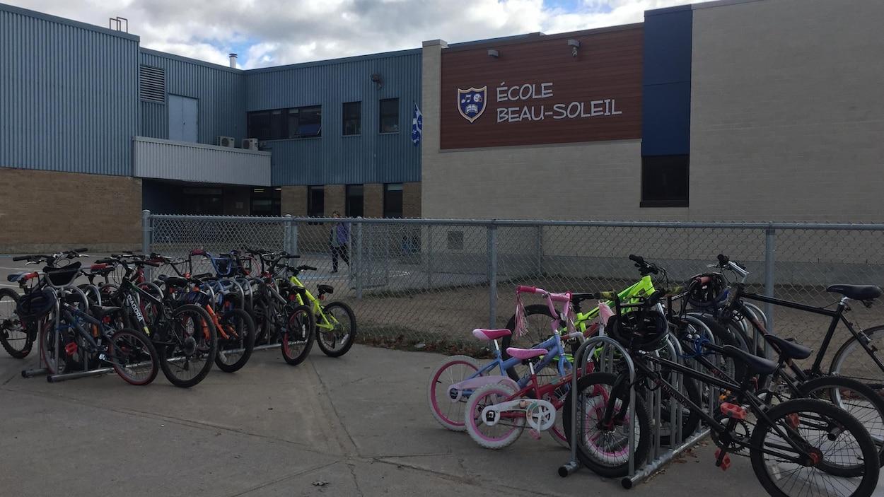 L'École Beau-Soleil est située dans le secteur Pointe-du-Lac, à Trois-Rivières.