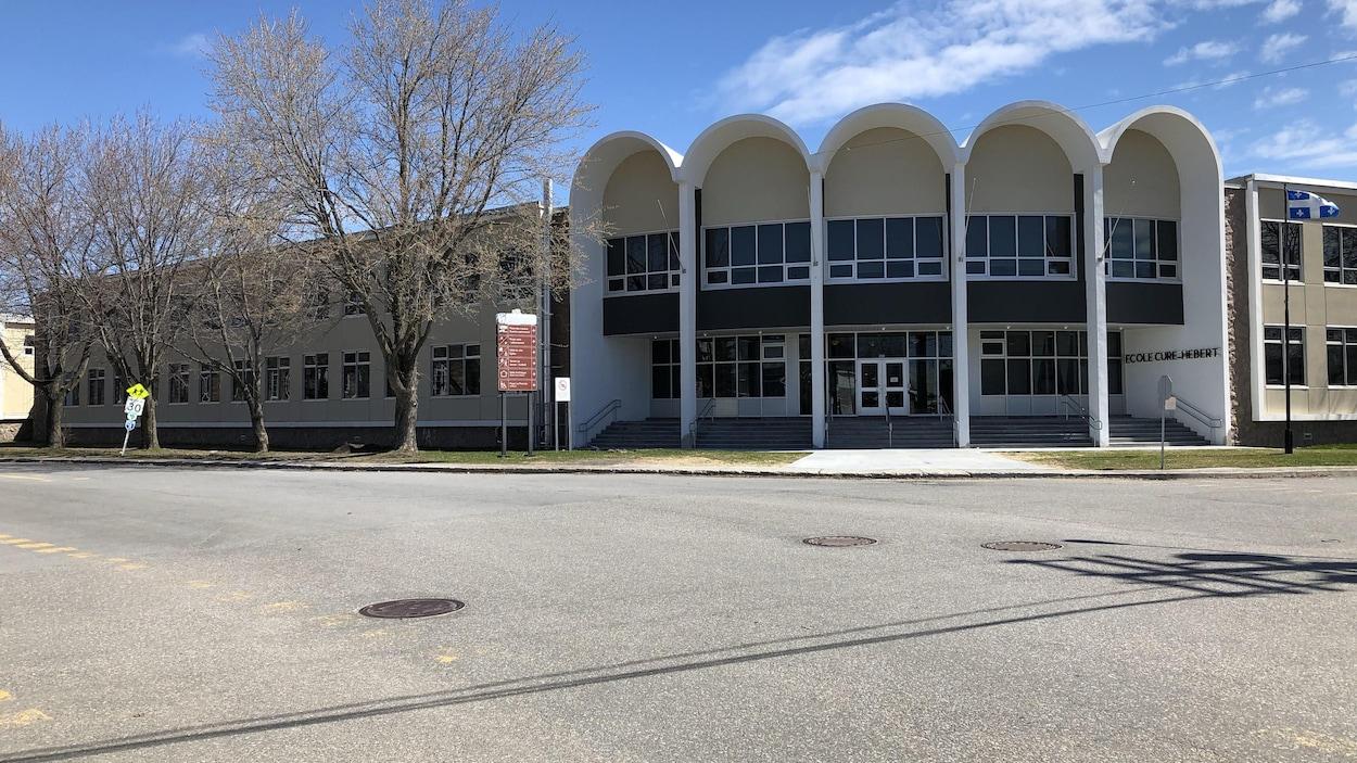 L'école Curé-Hébert.