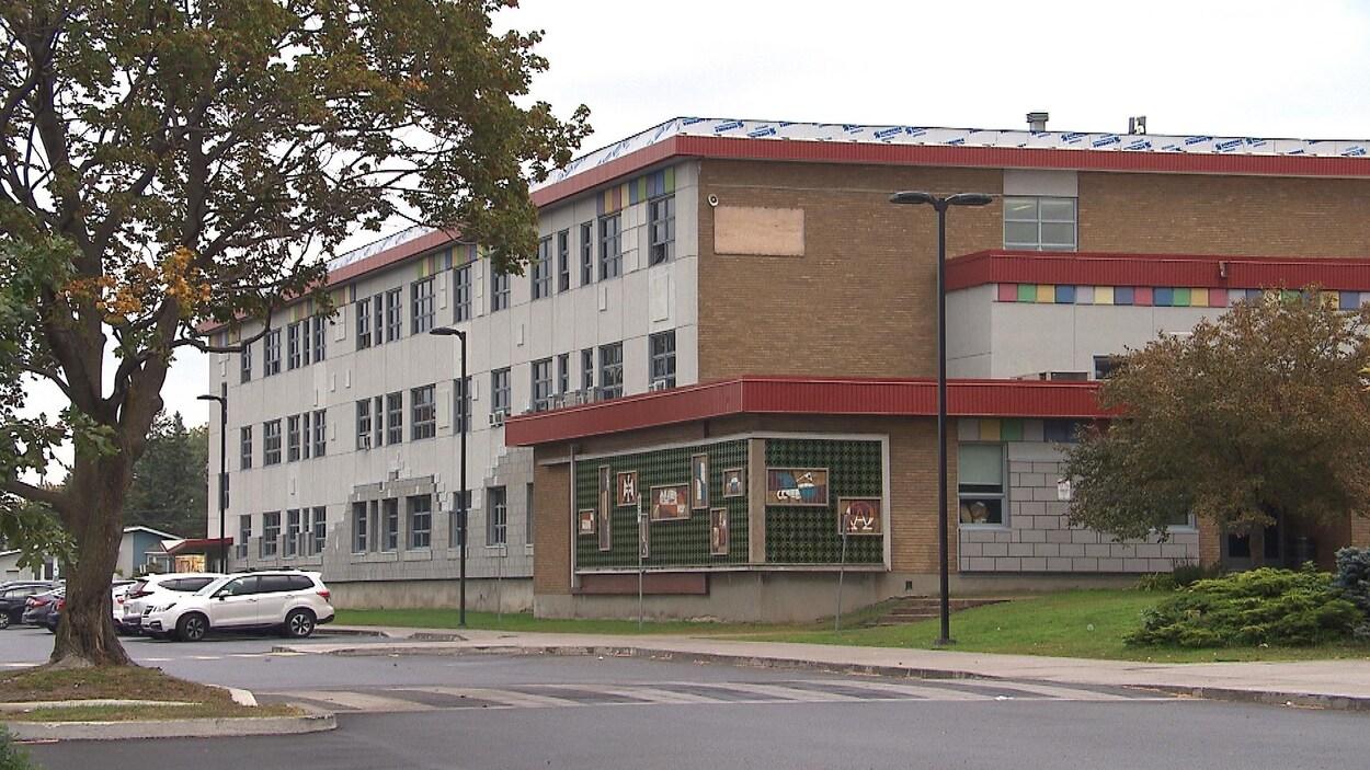 L'École secondaire Gérard-Filion.