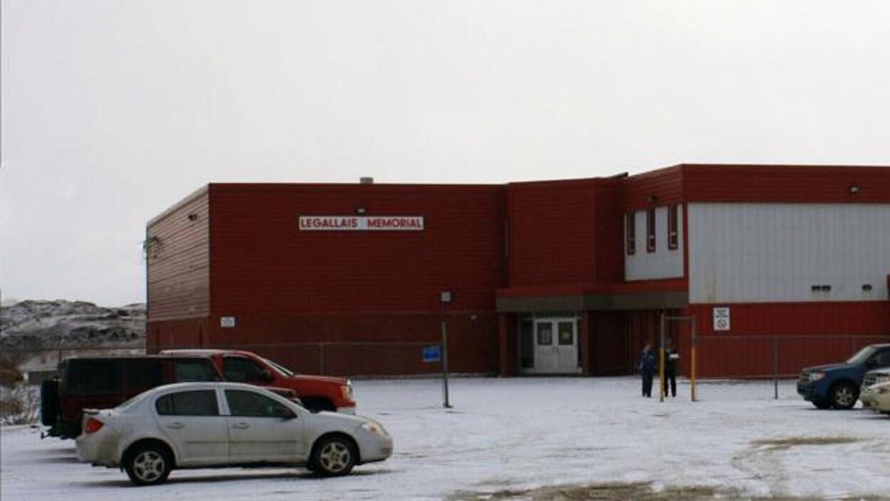 L'école LeGallais Memorial, à l'Isle aux Morts.