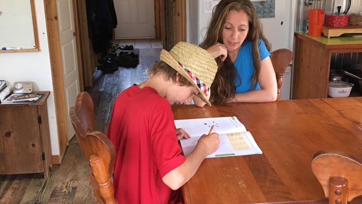 Une quarantaine d'enfants seront scolarisés à la maison cette année en Mauricie.