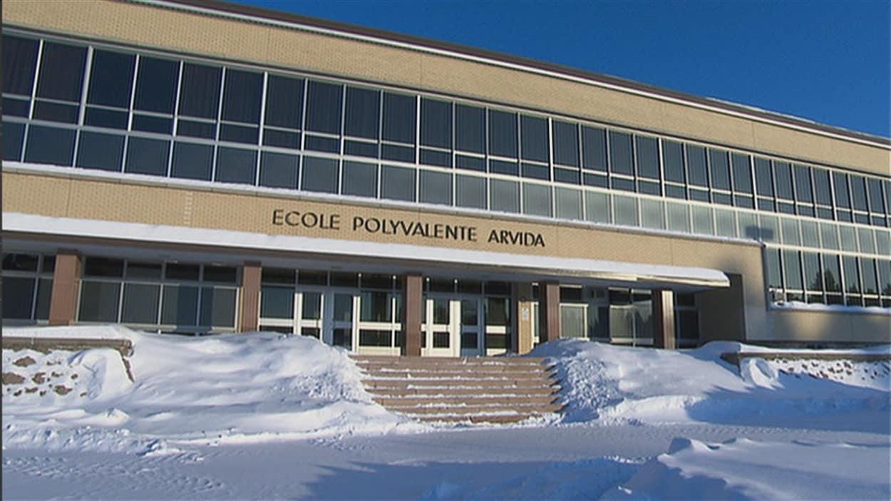 L'école polyvalente Arvida
