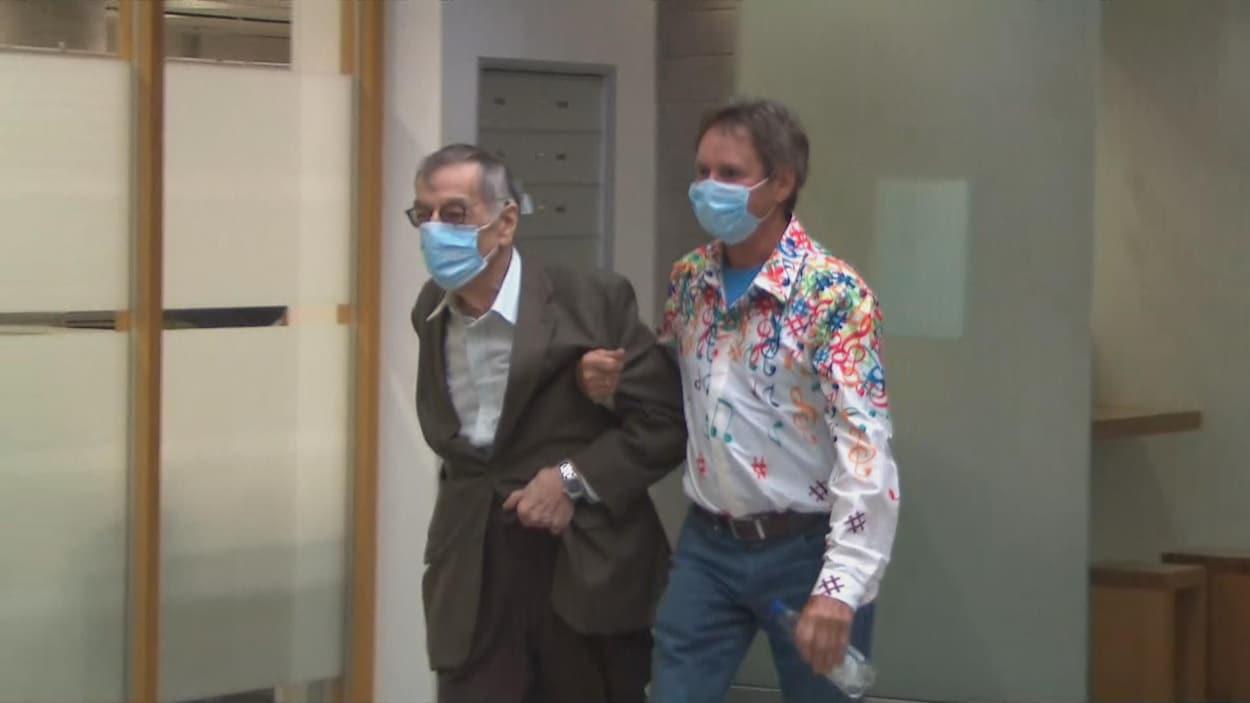 Edgard Fruitier coupable d'attentat à la pudeur