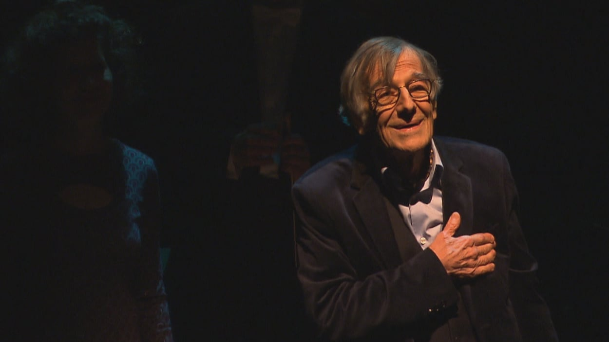 Le comédien Edgar Fruitier livre un touchant discours durant la deuxième mouture d'« Edgar et ses fantômes ».