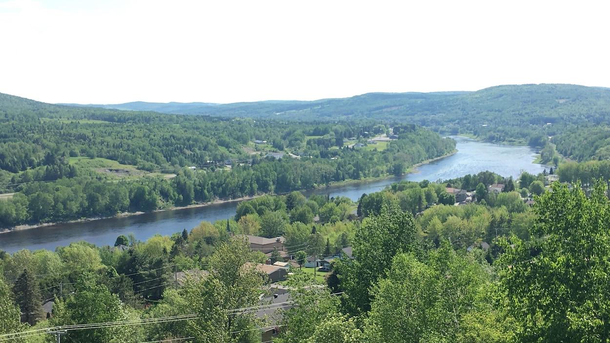 La vallée du fleuve Saint-Jean