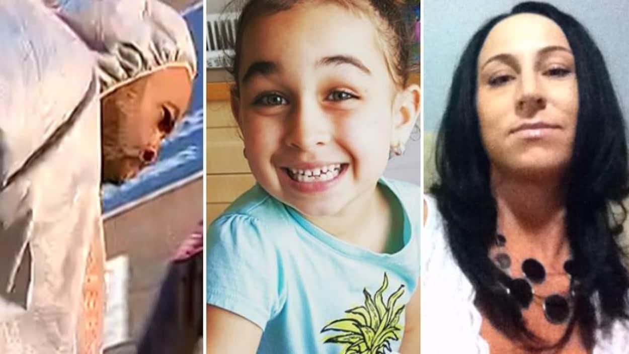 Trois photos montrant Edward Downey, Sarah Baillie et Taliyah Marsman.