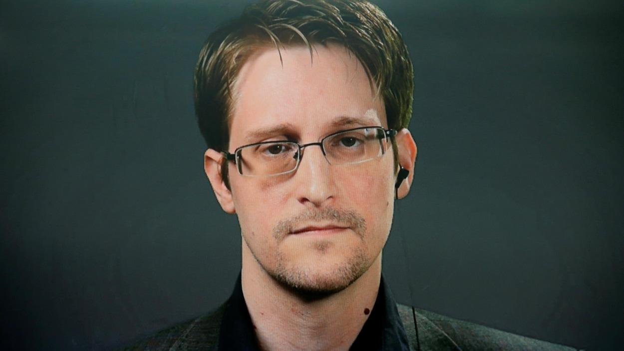 L'Américain Edward Snowden
