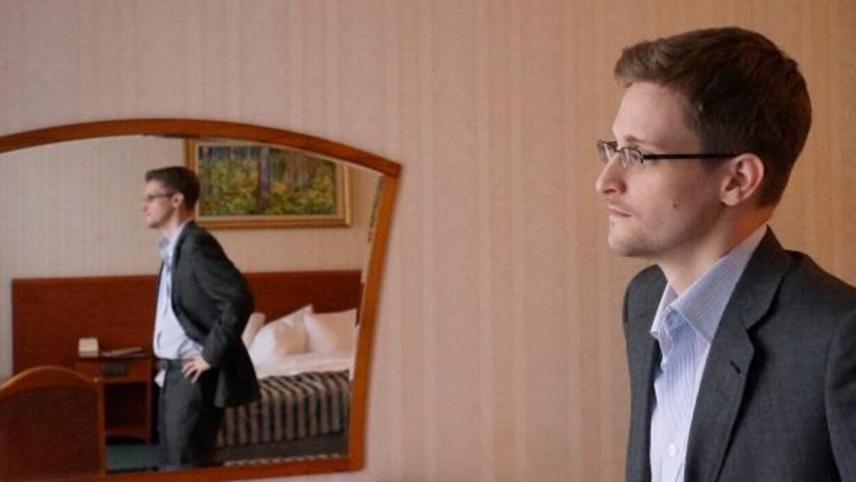 Edward Snowden, à Moscou, en décembre 2013.