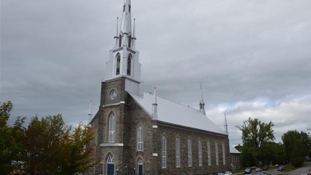 L'église Saint-Patrice à Rivière-du-Loup.