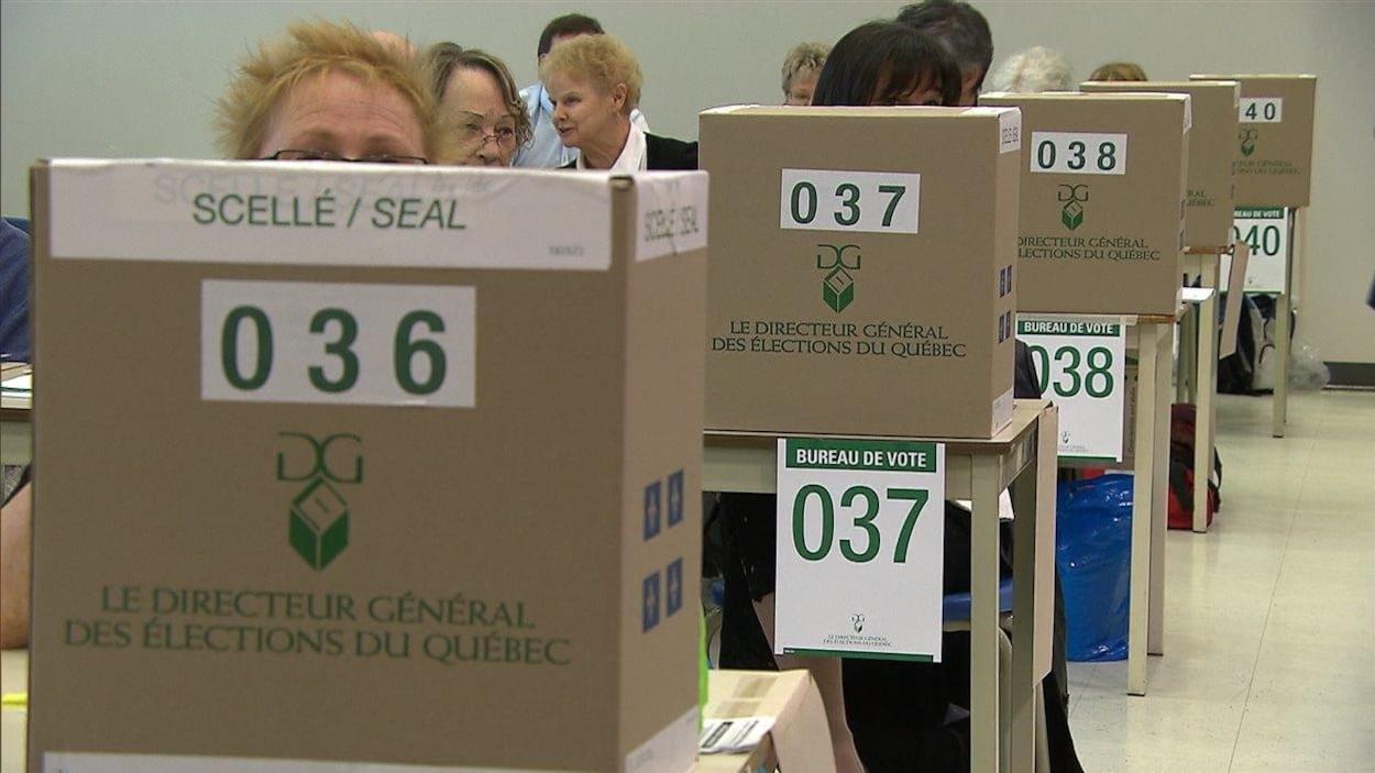 Élections au Québec