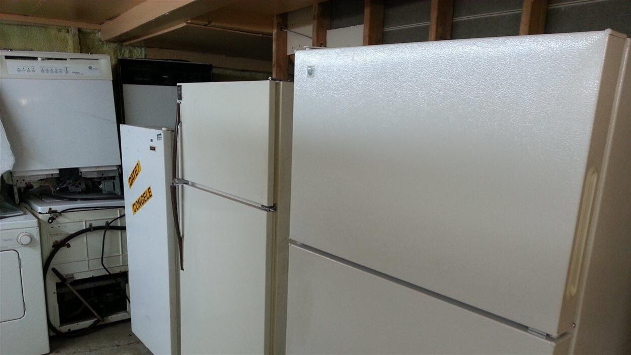 Des réfrigérateurs d'occasion