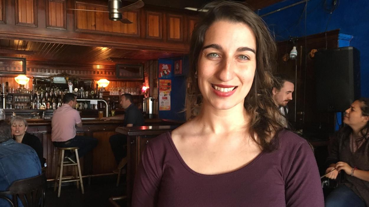 La députée de QS pour Rouyn-Noranda–Témiscamingue, Émilise Lessard-Therrien