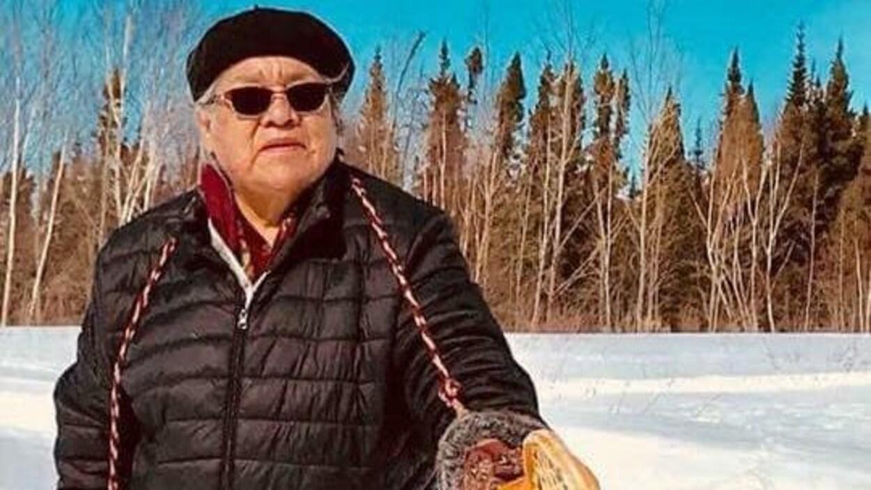 Emma Trapper, de Mistissini, est la première Autochtone au Québec à mourir de la COVID-19.