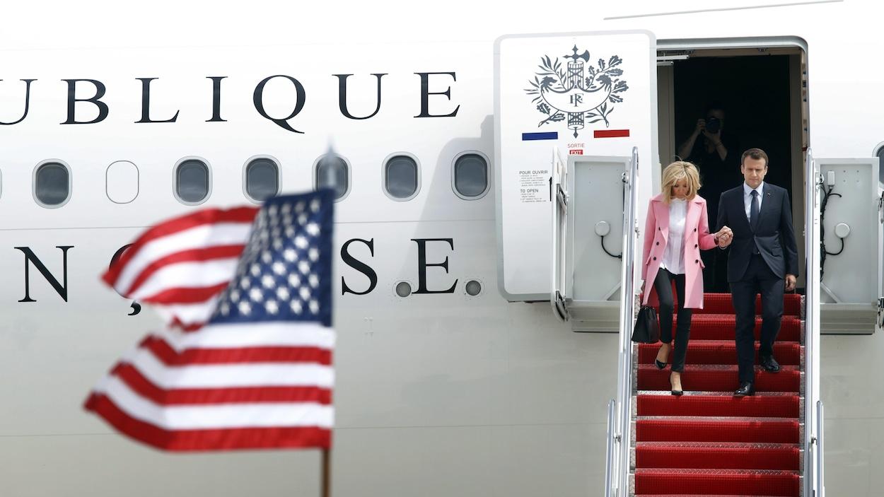 Macron aux Etats-Unis: la rude journée du président français 08:17