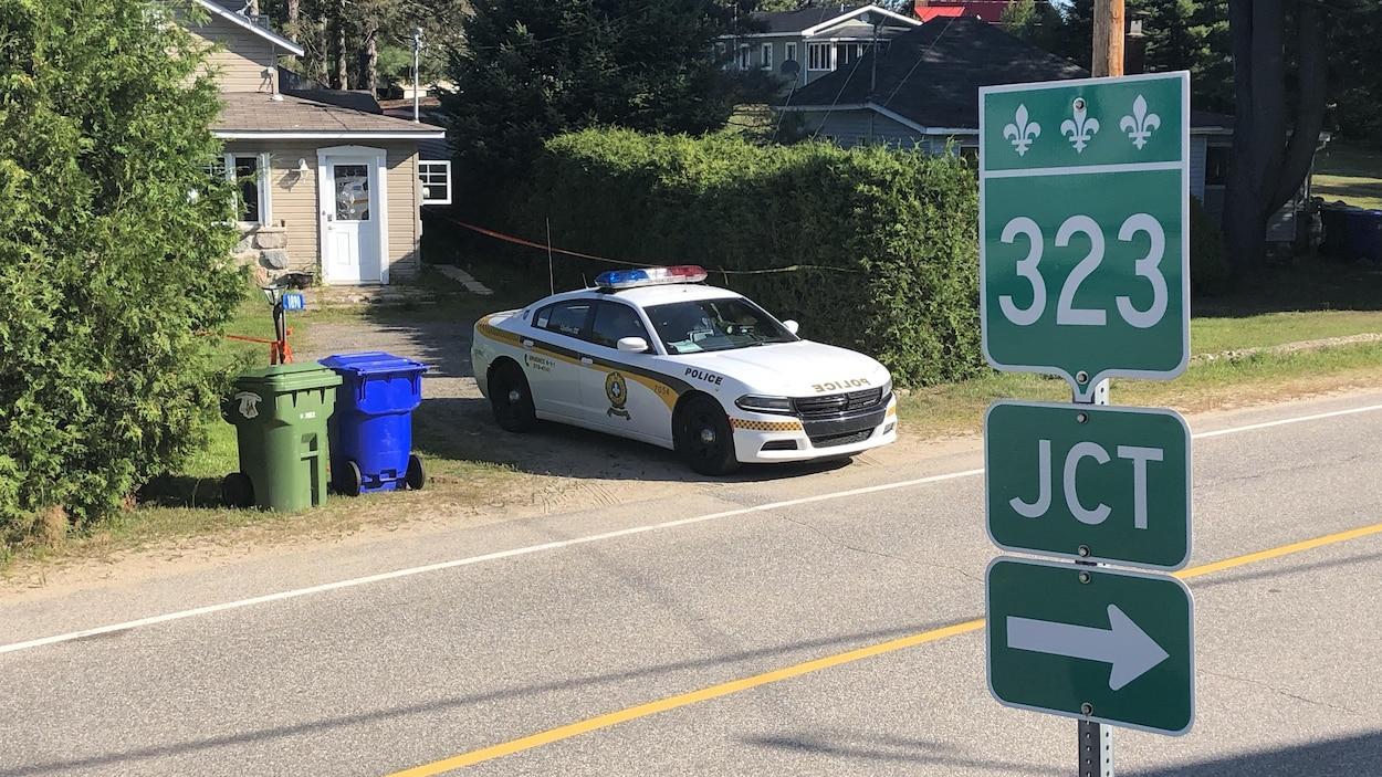 Outaouais: cadavres d'une femme et d'une fillette trouvés à Lac-des-Plages