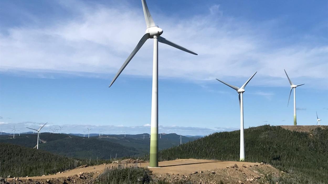 Des éoliennes de la Seigneurie de Beaupré