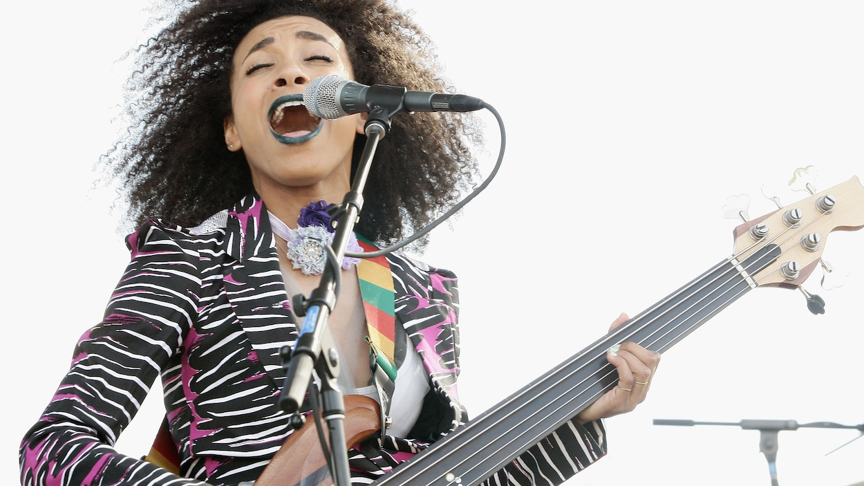 La musicienne américaine de jazz Esperanza Spalding