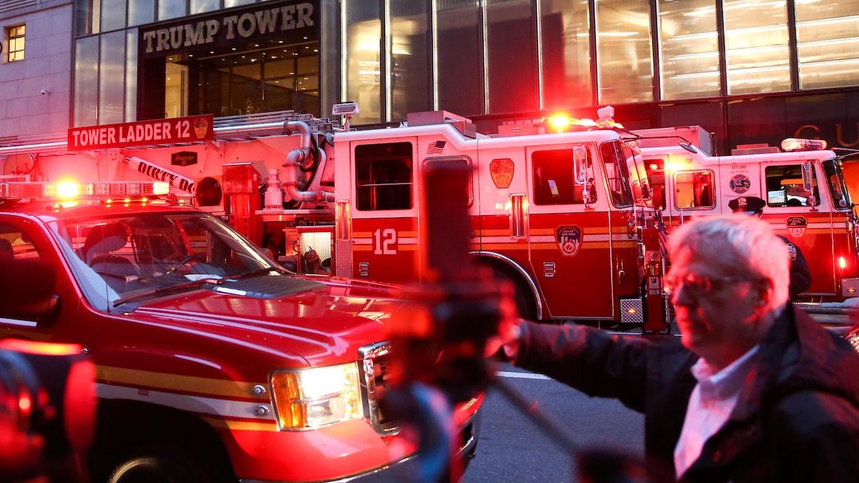 Un incendie se déclenche dans la Trump Tower — New York