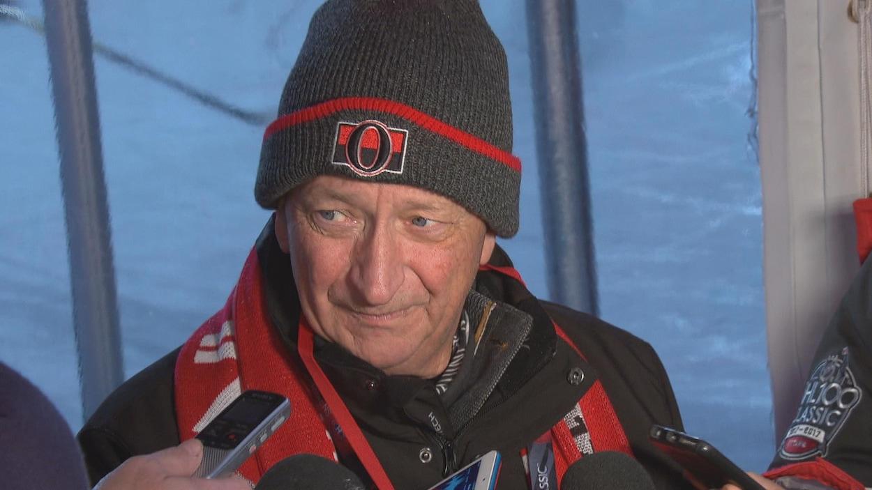 Le propriétaire des Sénateurs d'Ottawa Eugene Melnyk