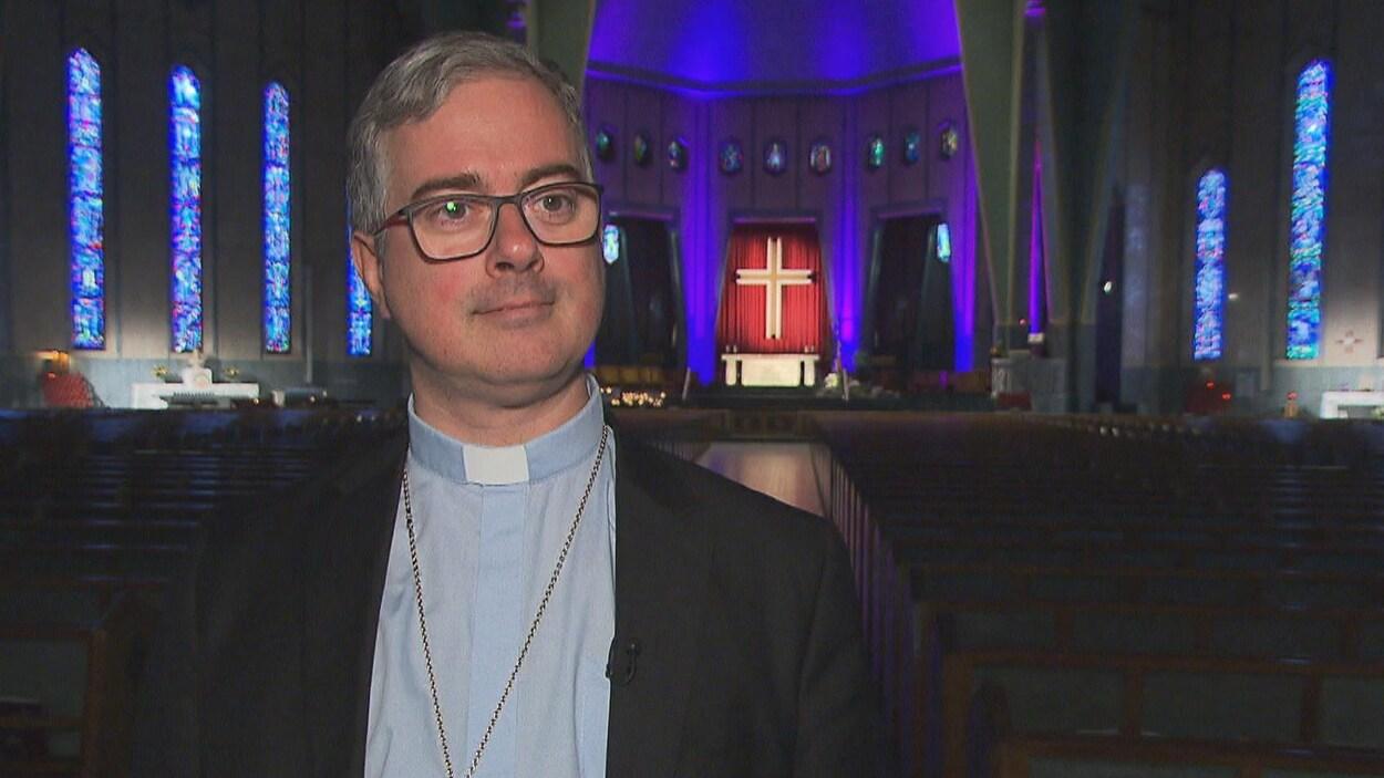 Pierre-Olivier Tremblay, évêque auxiliaire de Trois-Rivières et recteur du sanctuaire Notre-Dame-du-Cap