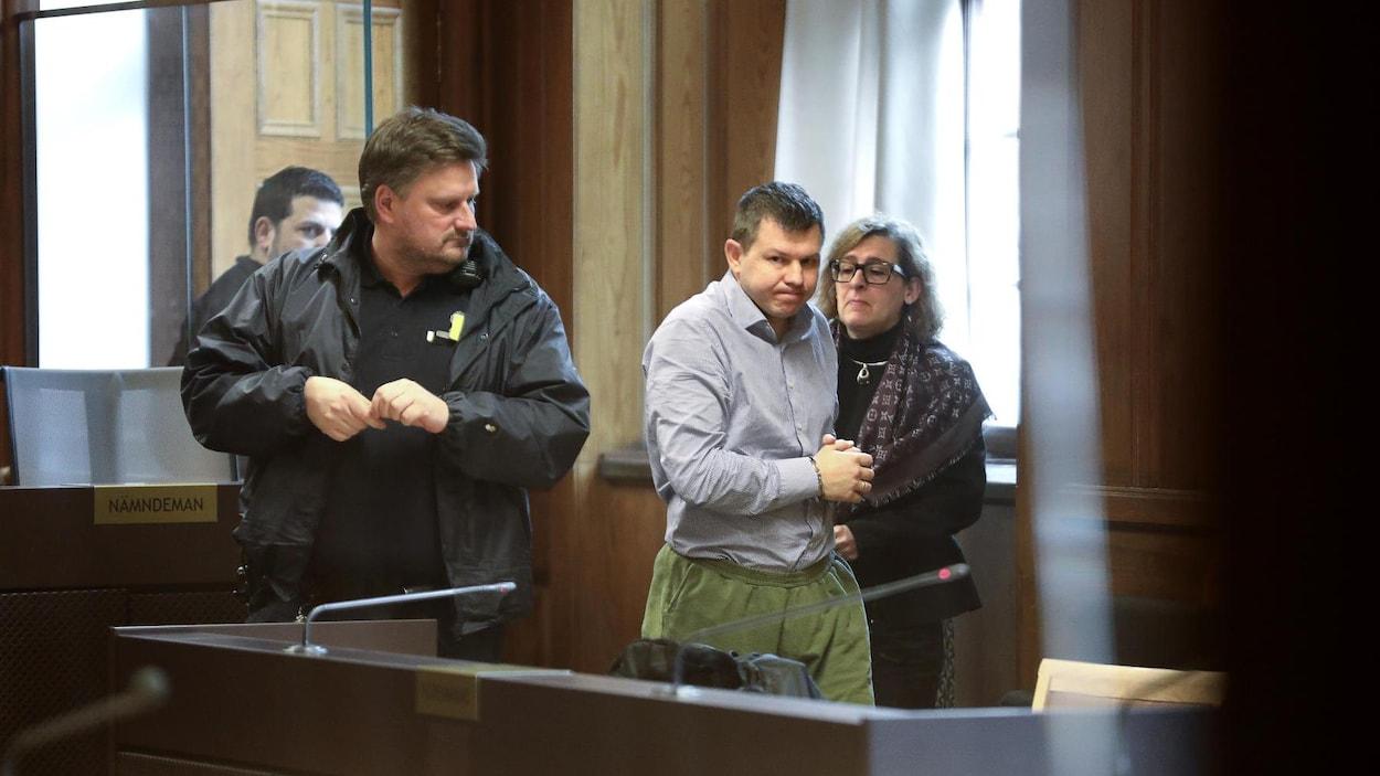 Evgeny Pavlov, un employé de Bombardier, arrêté en Suède