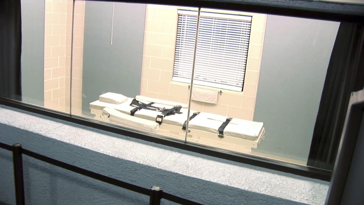 Une salle d'exécution en Arizona.