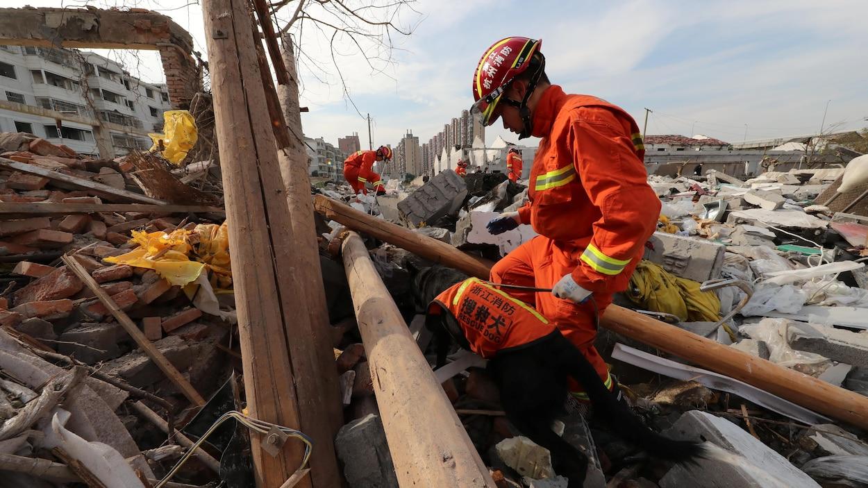Une fosse septique explose et fait deux morts — Chine