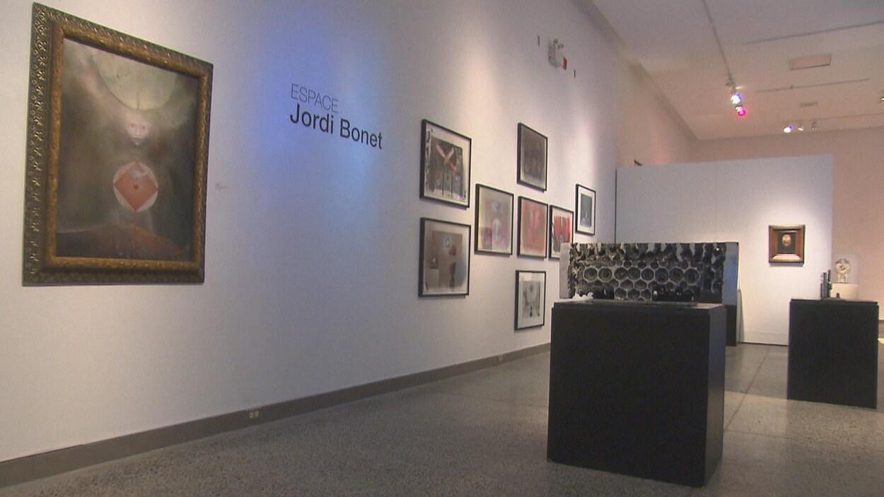 L'espace Jordi Bonet.