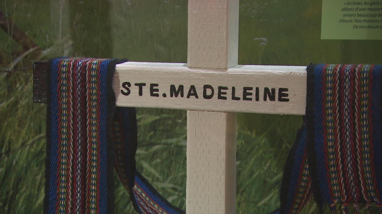 Exposition sur le village de Sainte-Madeleine