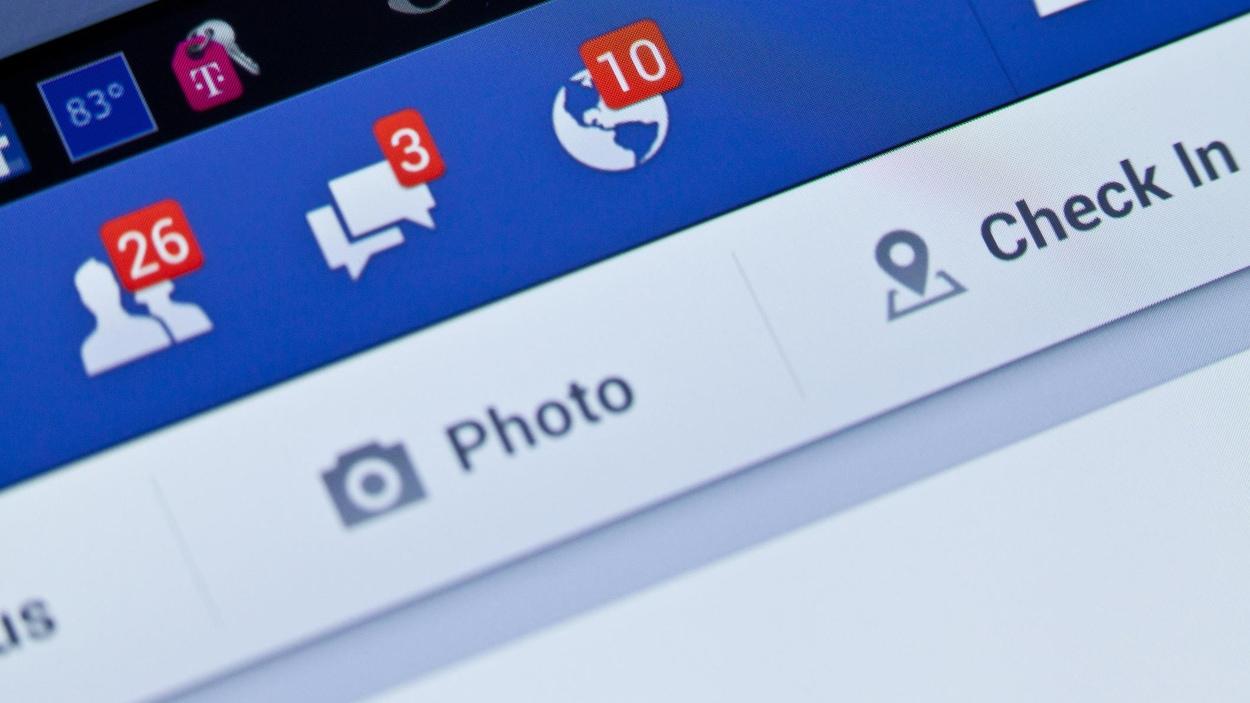 Sur Facebook, un compte avec plusieurs notifications