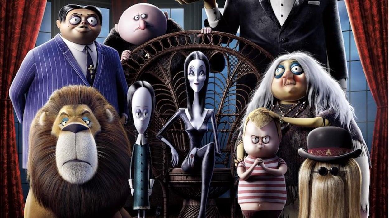Affiche du film « La famille Addams »
