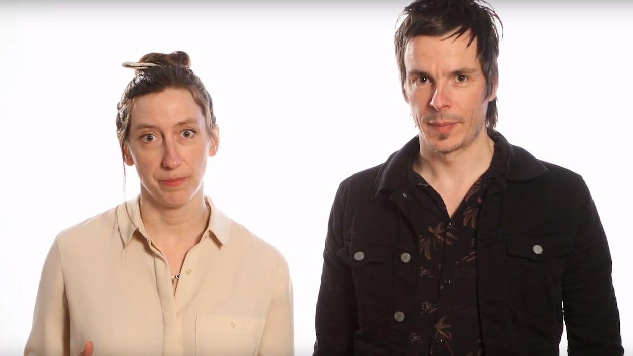 Fanny Britt et David Bussières