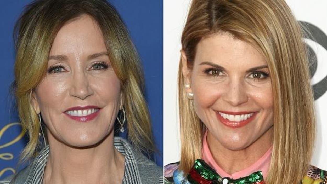 Les deux femmes sourient dans des photos prises séparément.