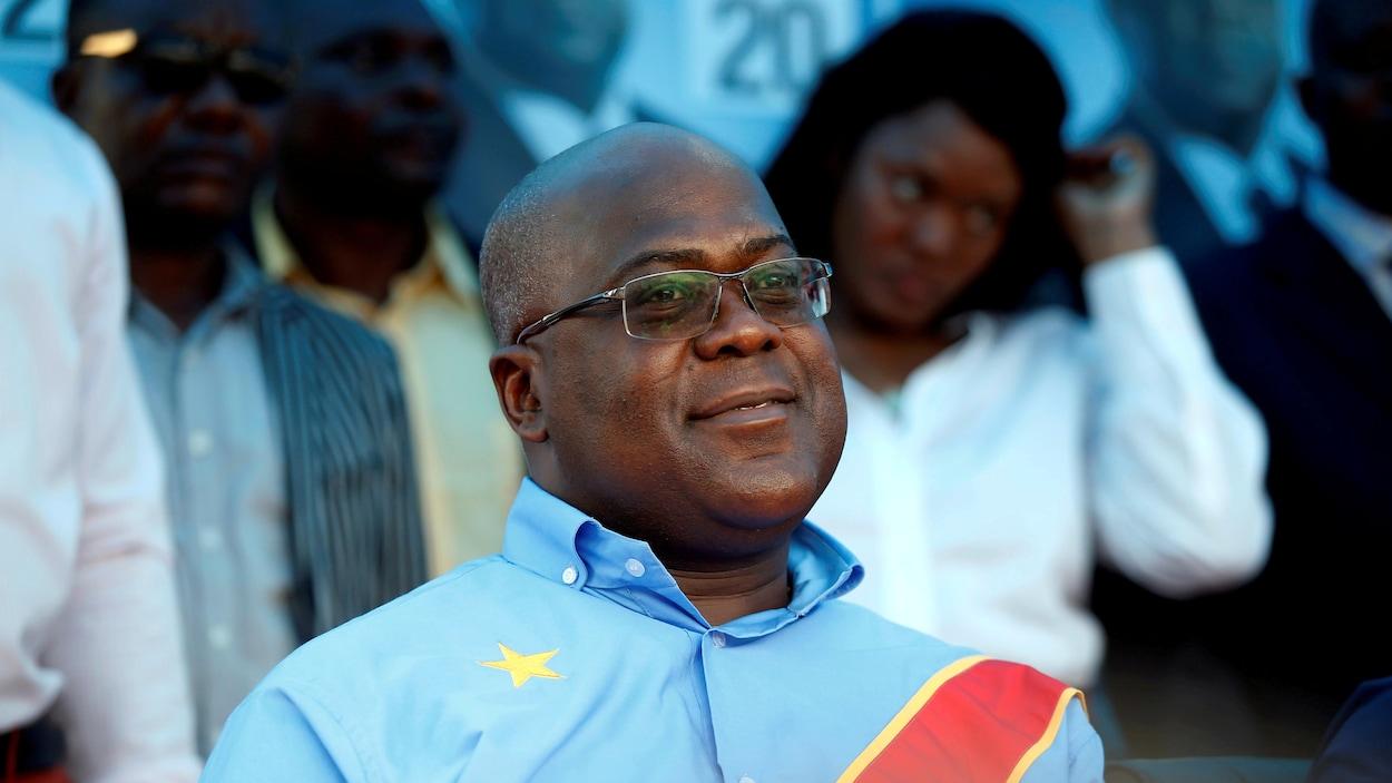 Felix Tshisekedi, chef du principal parti d'opposition congolais, l'Union pour la démocratie et le progrès social (UDPS)
