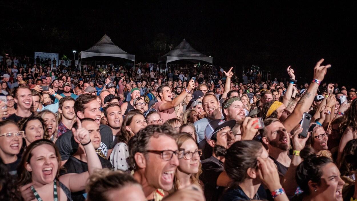 La foule du Festival Boréal.