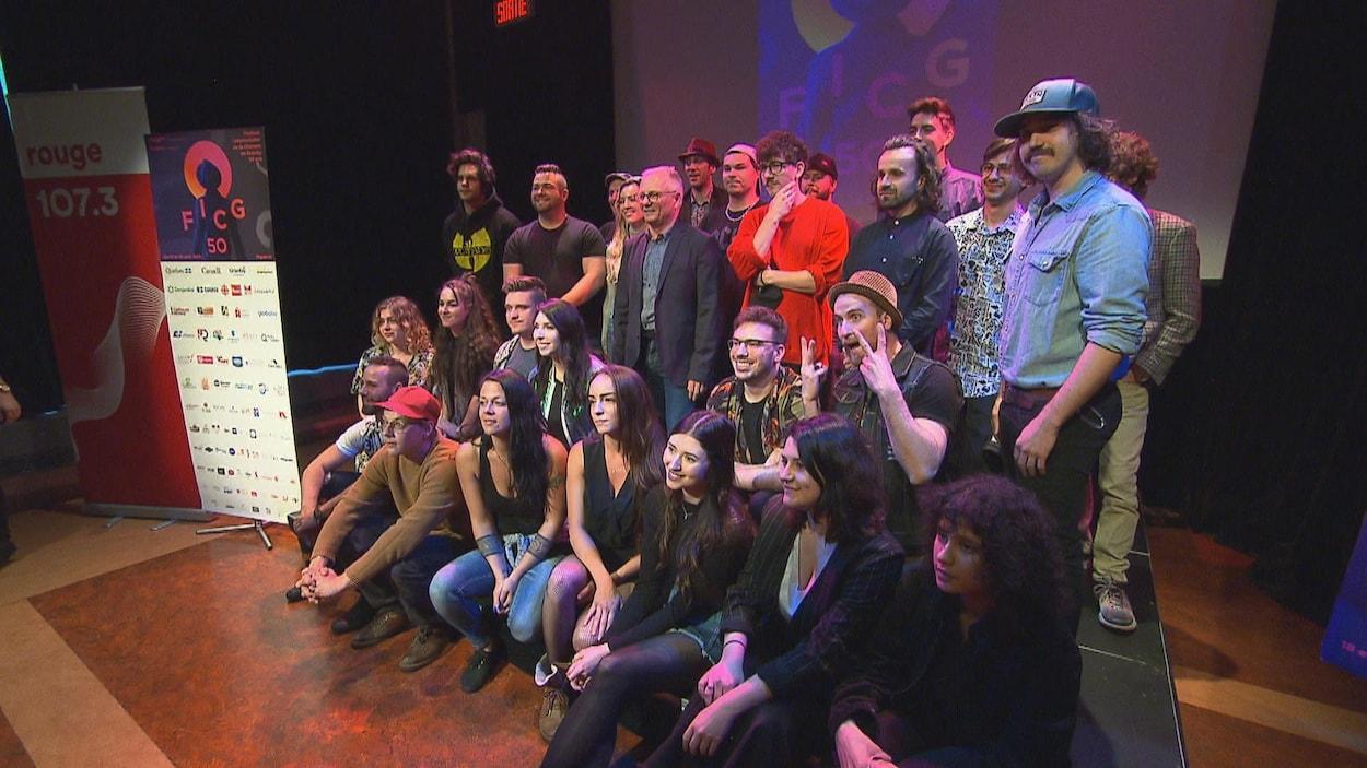 Le Festival international de la chanson de Granby a dévoilé la programmation de sa 50e édition et les noms de ses 24 demi-finalistes.