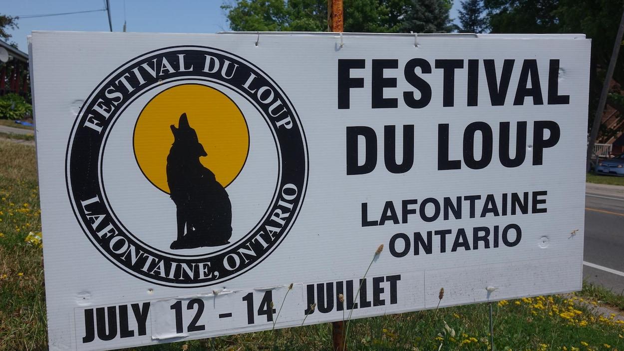 Le Festival du Loup a lieu du 12 au 14 juillet à Lafontaine.