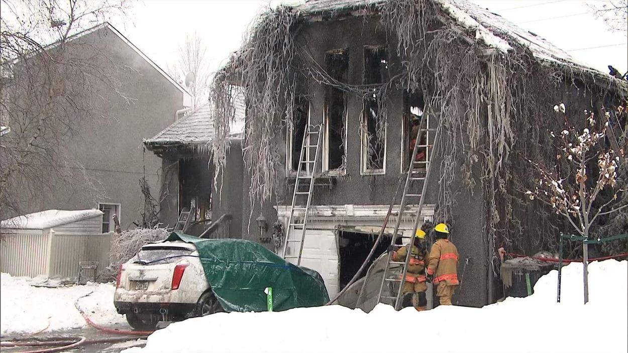 Une personne retrouvée morte — Incendie à Boisbriand