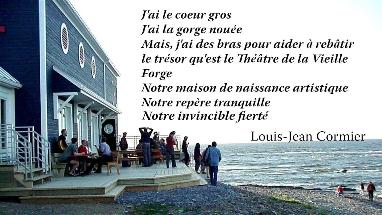Un message de Louis-Jean Cormier