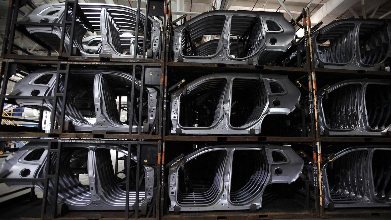 Une usine de Fiat Chrysler Automobiles au Michigan