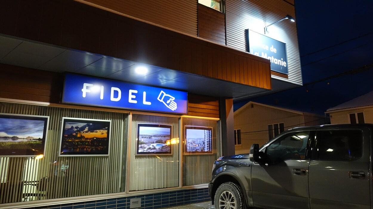 Les bureaux du fonds FIDEL de la Matanie sont situés dans l'édifice de la MRC.