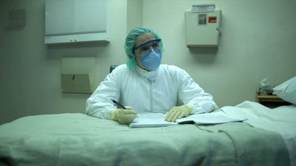 masque medical peste
