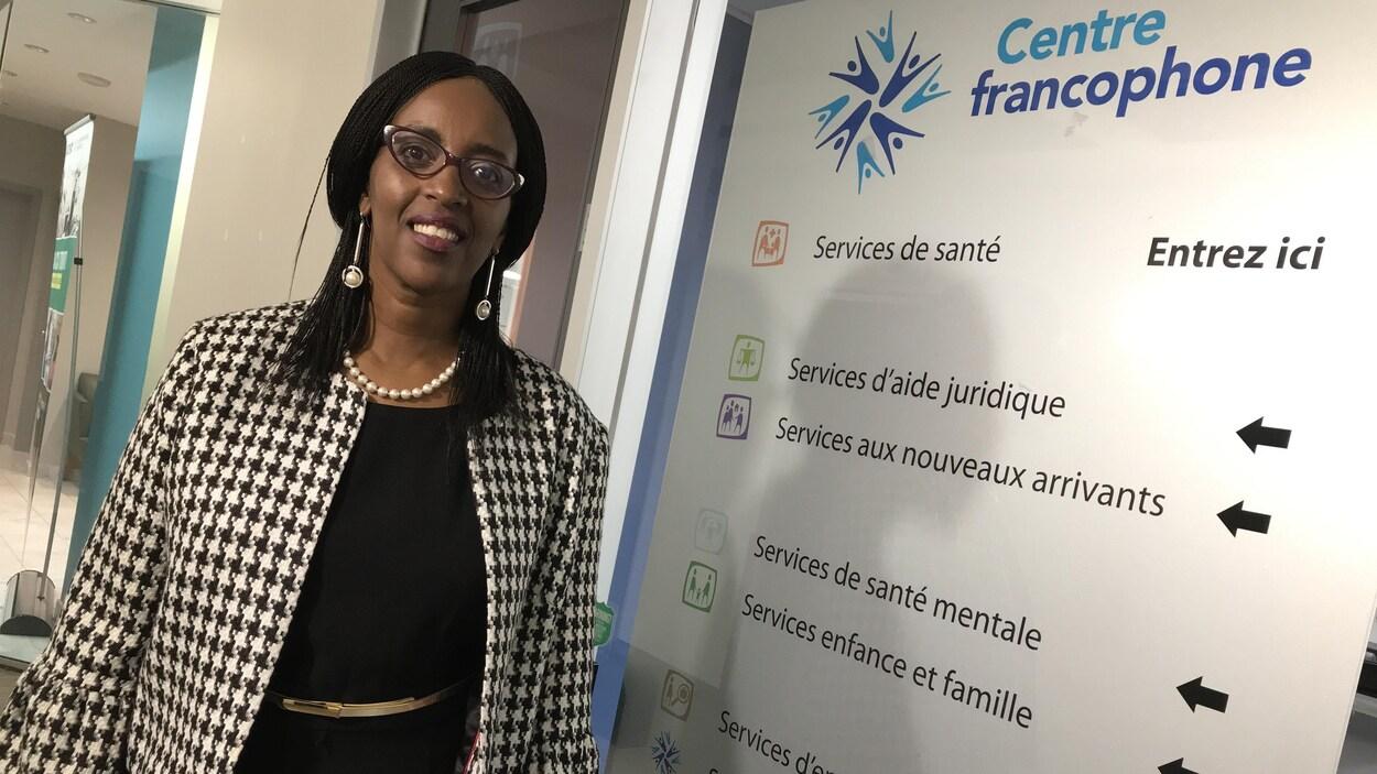 Florence Ngenzebuhoro est directrice générale du Centre francophone de Toronto.