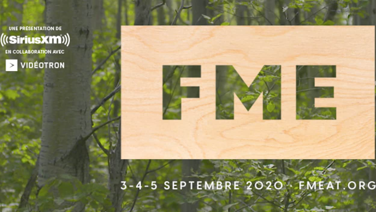 Affiche promotionnelle disant : FME 3-4-5 septembre.
