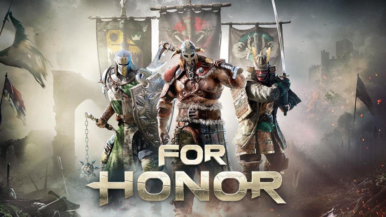 Affiche du nouveau jeu de combats au corps-à-corps, For Honor