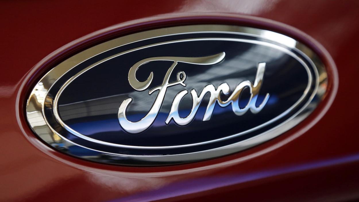 Logo du constructeur automobile Ford